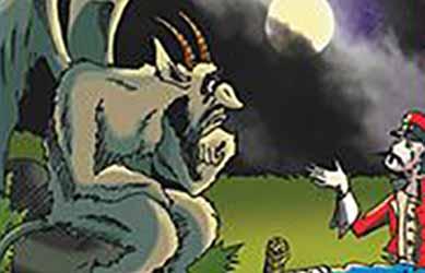 Картинка к сказке Чумазый брат черта