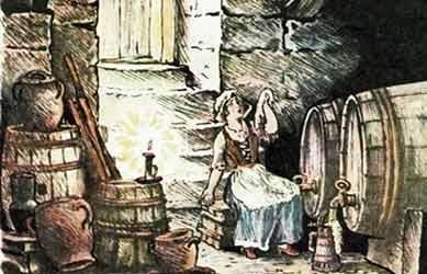 Картинка к сказке Фридер и Катерлихзен