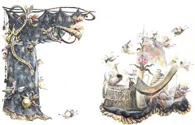 """Картинка к сказке Г.Х.Андерсена """"Волшебный холм"""""""