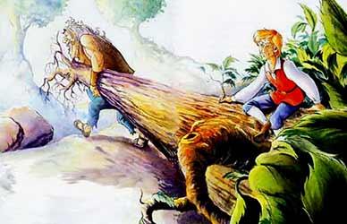 Картинка к сказке Храбрый портной