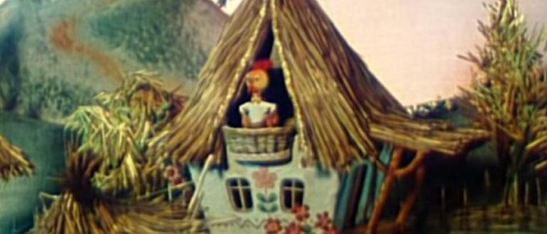 Иллюстрация к украинской народной сказке Колосок