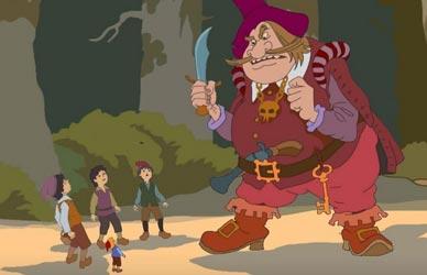 Иллюстрация к сказке Перро Мальчик с пальчик