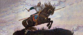 """Картинка к украинской народной сказке """"Мужик болтанский, богатырь басурманский"""""""