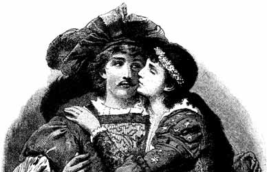 Картинка к сказке Гримм Настоящая невеста