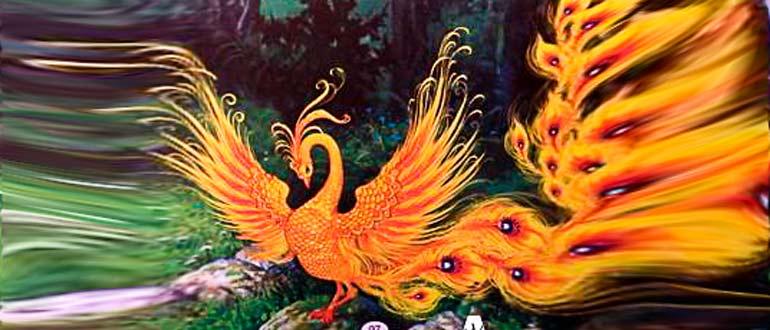 """Картинка к украинской народной сказке """"Птичий царь Кук"""""""
