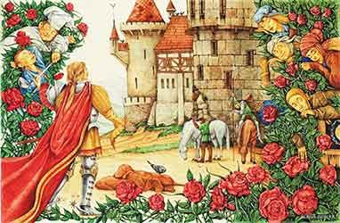Картинка к сказке Шиповничек