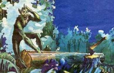 Картинка к татарской сказке Шурале