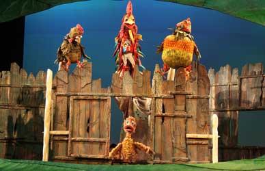 """Картинка к сказке Г.Х.Андерсена """"Директор кукольного театра"""""""