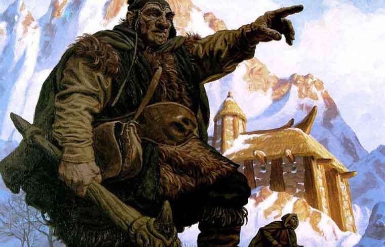 Иллюстрация к сказке братьев Гримм Ученый охотник