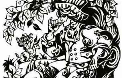 Картинка к сказке Александра Дюма Волшебный свисток