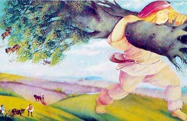 Картинка к сказке Юный великан